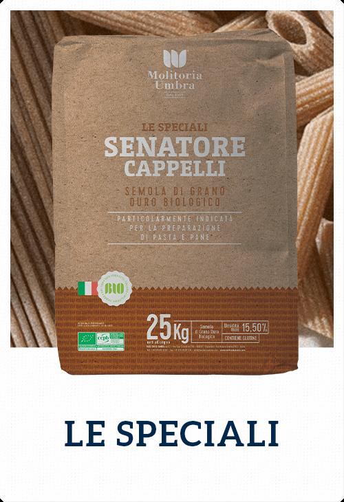 senatore cappelli - semola di grano duro biologico
